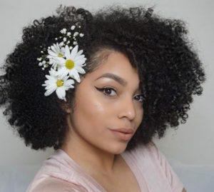 Shoulder Length Crochet Curls