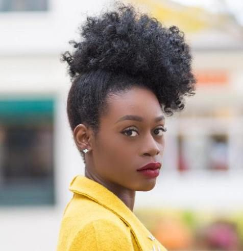 35 Quick Natural Hairstyles For Short Natural Hair