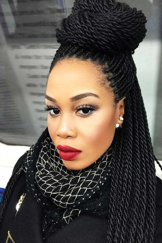 35 Stunning Twist Braids Hairstyles