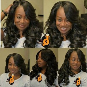 Invisible Braids Body Wave Style