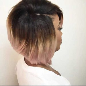 Ombre Stacked Bob