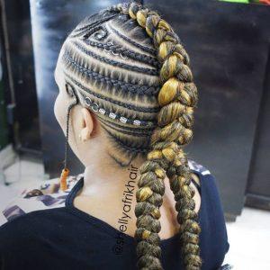 Intricate Mohawk Braids