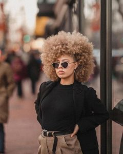 Wash and Go on Blonde Natural Hair