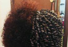 hair milk treatment on natural hair