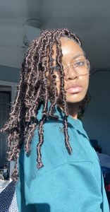 chocolate brown butterfly locs